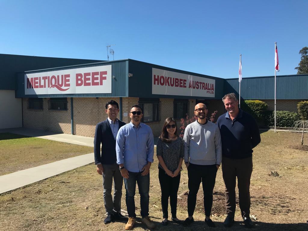 Visit To Hokubee Australia